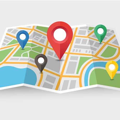 Find Us Map Image